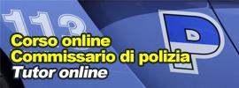 Corso online Commissario della Polizia di Stato